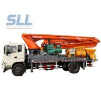 China Truck Mounted Cement Concrete Mixer Pump International Purchased Component wholesale