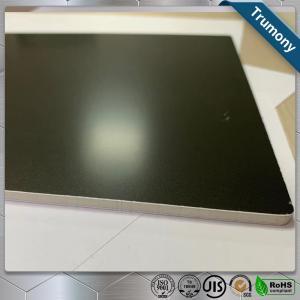 China Matt Black High Grade Aluminum Mirror Sheet Composite Panel For Decoration Billboard wholesale