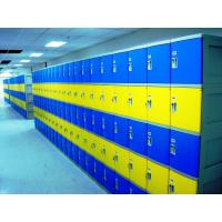 China Red School Lockers With Keyless Lock , Factory price plastic employee ABS lockers wholesale