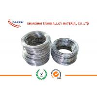 China Nicr Alloy NiCr70 / 30 High Resistance Wire , Resistance Heater Wire wholesale