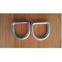 China Stainless Steel D Shape Ring Safety D Buckle Forged Hardware M6 - M100 Size wholesale
