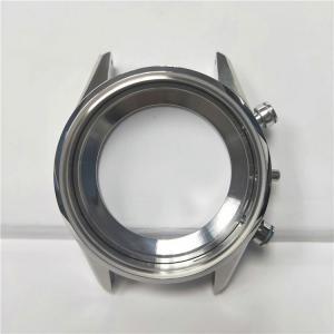 China Watch Case CNC Metal Machining , Chrome Plating OEM CNC Machining Parts wholesale