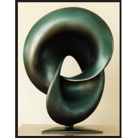 China 2 Meters Forged Abstract Copper Sculpture , Furnishings Bronze Sculpture Abstract wholesale