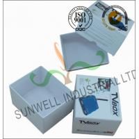 China Corrugated Coated Paper Electronics TV Packaging Boxes White Color Matt Lamination wholesale