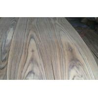 China African Natural Crown Cut Teak Veneer With Black Triped Texture wholesale