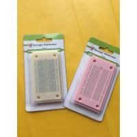 China Round Hole Bread board Small Test Board Colored For 29AWG - 20AWG Wires wholesale