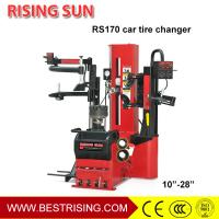 China Full automatic leverless tire changer with double helper wholesale