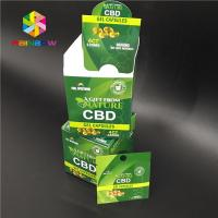China New product custom printed smell proof flavored cbd blunt wrapper hemp wraps empty packaging bag wholesale