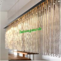 China 2015 Fashion Partition 6mm Gold Stainless Steel Ball Chain Curtain metal bead curtain on sale