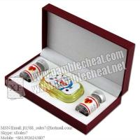 China XF C class Contact lenses for marked cards/poker analyzer/poker cheat/contact lens/infrared lens/poker scanner wholesale