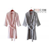 China Five Star Hotel Style Bathrobes 100 Cotton Material Different Colors wholesale