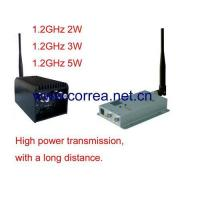 Quality 1.2GHz 3W wireless AV transmitter receiver for sale