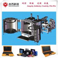 China Laptop Enclosure Vacuum Coating Equipment With Copper Sputtering Deposition System wholesale