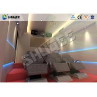 China 6 Effects 5D Movie Theater Pneumaitc Hydraulic  Electric Motion System Chair wholesale