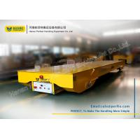 China Anti - Explosion Self Propelled Rail Transfer Cart For Material Handling wholesale