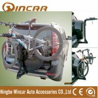 Quality 4 Bike Rear Mounted Car Bike Carrier Iron Hitch 50 x 50 x 3mm for sale