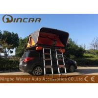 China Aluminum Frame Automatic Rooftop Tent With 2 Ladders , Vehicle Roof Rack Mounted Tent wholesale