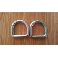China High Strength Safety D Rings Zinc Plated Buckle D Rings With Hot Forged wholesale