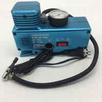 China Ac110v - 230v Dc12v Vehicle Air Compressors 250psi With Plastic Material wholesale