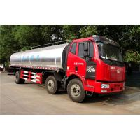 Buy cheap 6X2 FAW 225HP 20CBM Insulation Tank Stainless Steel Milk Transport Truck from wholesalers