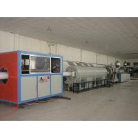 China Large Diameter PVC Pipe Extrusion Line With Twin Screw wholesale