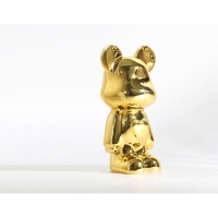 China Figure Cartoon Character Sculptures Interior Customize Small Bronze Statues Exquisite Gifts wholesale