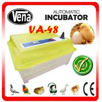 China 2014 Newly Transparent VA-48 Incubator Egg Turners mini egg Incubator CE approved on sale