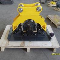 China Komatsu Hydraulic Plate Compactor ,  Heavy Duty Compactor Attachment For Excavator wholesale