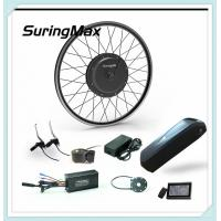 Buy cheap LCD Display Electric Mountain Bike Kit, 48v 1000w Dc Gearless Front Motor Kit from wholesalers