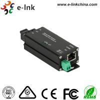 China Microtype Hardened Industrial Ethernet Media Converter SC / ST Optical Port wholesale