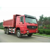 China 6x6 Full Drive Heavy Duty Dump Truck 336HP Sinotruk Howo Truck 20 CBM Loading on sale
