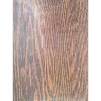 China Light Weight Wood Grain Transfer Paper 1270mm No - Paint Smell For Kitchen Door wholesale