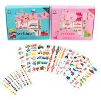 China Body Beauty Small Baby Playing Toys Kids Tattoos With Customized Size wholesale