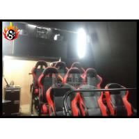 China Large 6D Cinema Equipment with Professional Projector and Silver Screen wholesale