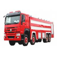 China Sinotruk HOWO 8x4 Fire Fighting Truck 20m3 Foam And Water Real Fire Trucks on sale