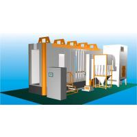 China Multi - Cyclone Automatic Powder Spray Booth With Two Recovery System wholesale