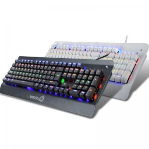 China Professional RGB Mechanical LED Backlit Keyboard With Floating Keys wholesale