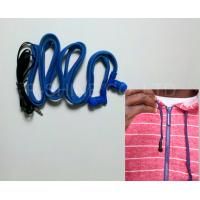 China New hoodie drawstring earphone manufacturer washable headphone factory on sale