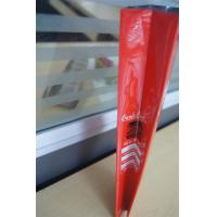 China Customized side gusset aluminum foil coffee bags with valve , red green wholesale