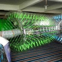 China Commercial Grade Clear Inflatable Water Walking Roller For Summer Water Game Parks wholesale
