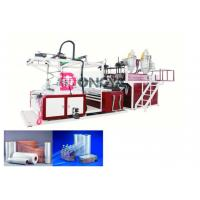 China Fast Speed Automatic Stretch Film Rewinding Machine / Cling Film Extruder 600 - 1000mm Width wholesale