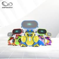 China Attractive Colorful Funny VR Game Children VR Simulator / 9D Virtual Reality Machine wholesale