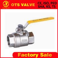 China stainless steel ball valve on sale