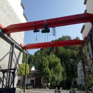 China Mingdao Crane Brand 5t 10t Hoist Model Single Girder Overhead Bridge Crane wholesale