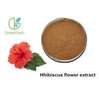 China Raw Material Organic Hibiscus Flower Powder Promote Blood Cell Restruction wholesale