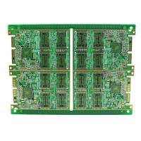 China Rigid Multilayer PCB , High Density 8 Layer Immersion Gold PCB Automatic Control Circuit Design wholesale