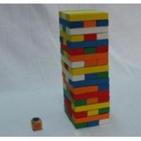 China Educational Preschool Stacking Blocks Non Toxic Educational Wooden Puzzle Toys for Kkids wholesale
