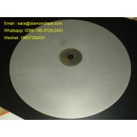 "Quality 16""inch Diameter #1000 Grit Flat Lap wheel Lapidary lapping polishing disc for polishing gemstones for sale"