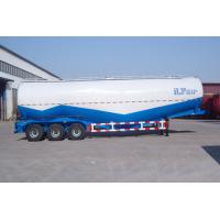 China Three Axles 30cbm Bulk Cement Truck With Diesel Engine , Semi Trailer Trucks wholesale