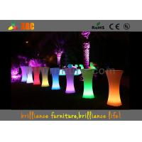 China LED lighting Cocktail table / 100-240V Outdoor Furniture for party & exhibition wholesale